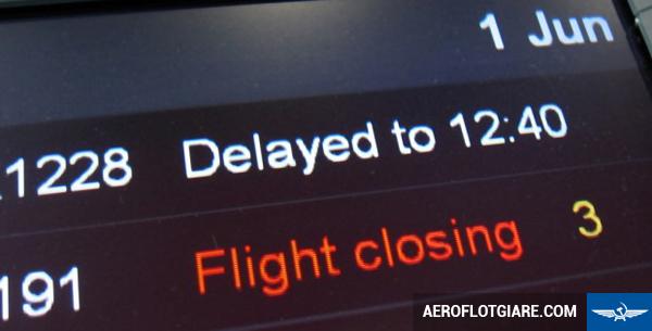 Quy định bồi thường của Aeroflot cho những chuyến bay bị chậm, hoãn hay hủy chuyến