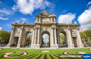 Lần đầu đến với thủ đô Madrid