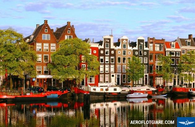 săn vé máy bay đi Amsterdam