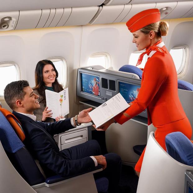 hạng thương gia Aeroflot