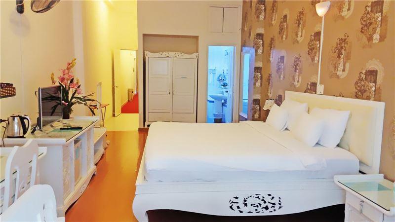 Phòng deluxe Khách sạn A25 Mạc Thị Bưởi