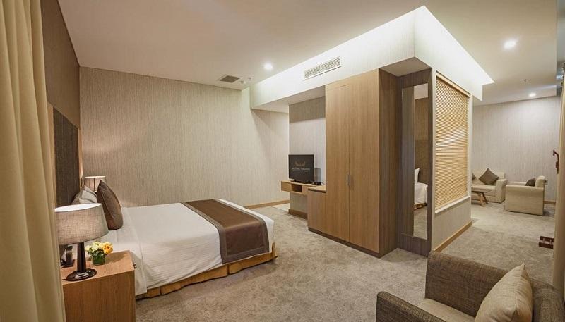 Phòng premier Khách sạn mường thanh sài gòn