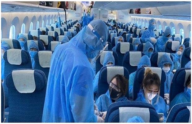 quy định đặt vé chuyến bay từ Pháp về Việt Nam