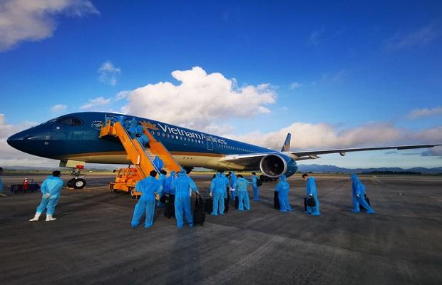 đối tượng đặt chuyến bay từ Đức về Việt Nam đầu tháng 4
