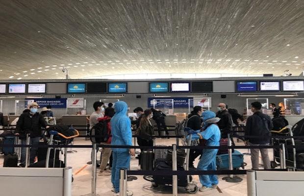 quy định hành khách trên  chuyến bay từ Pháp về Việt Nam