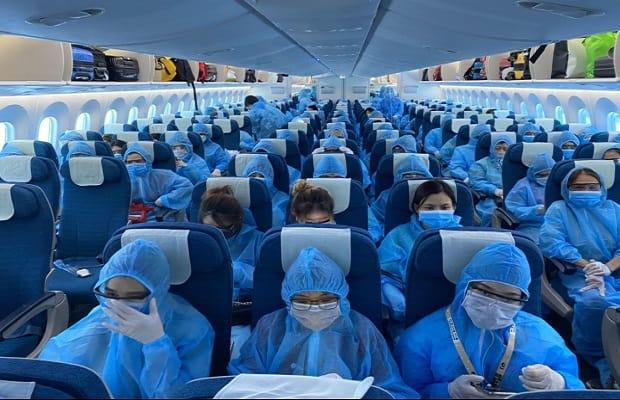 lưu ý khi book vé máy bay từ Mỹ về Việt Nam