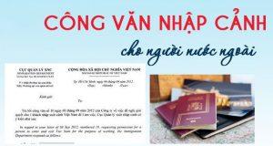 Dịch vụ làm công văn nhập cảnh tại Sài Gòn